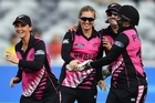 Anna Peterson bags NZ's first ever hat-trick in international women's cricket against Australia