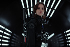 Felicity Jones in the Star Wars movie Rogue One, the highest grossing movie of last year. Photo/Supplied