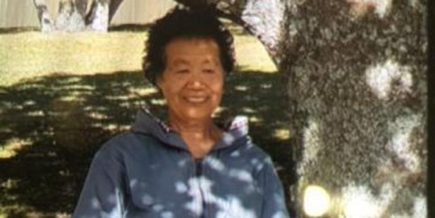 Kebai Liu, 76, was found dead in bush on Sunday night. She had been missing since Friday.  Picture / NZ Police