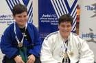 FIGHTING FIT: Whanganui siblings Callaghan (left) and Keightley Watson return triumphant from Australian judo tournament, including NZ selection for Keightley.