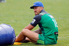 Sonny-Bill Williams during Blues Super Rugby pre-season training session. Photo / Photosport