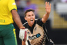 Trent Boult during Friday's T20 v South Africa. Photo / photosport.co.nz