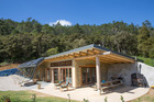 Earthship located in the Coromandel is being advertised on Airbnb. Photo / Supplied