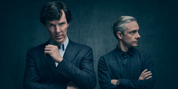The report comes after it was claimed Benedict and Martin are said to be 'hardly close' and reportedly don't socialise outside of the show. Photo / BBC