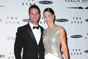 Jamie Whincup and Courtney Nicholson at the 2014 V8 Supercars Gala Awards. Picture / News Corp