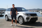 Dan Carter has been dropped as a brand ambassador for Land Rover following his alleged drink driving incident in France last week. Photo / Trade Me