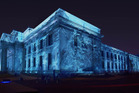 Auckland War Memorial Museum will become the canvas for the projection of a majestic Antarctic ice berg. Photo / Supplied