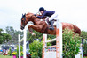 Sam Morrison and Biarritz are in top form ahead of the four-day show jumping carnival at Tauranga Racecourse. PHOTO/Photosport