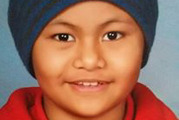 Abi Lameta, 8, who died in November, stabilised with palliative care provided at home. Photo / Supplied.