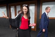 Labour Party leader Andrew Little joined Jacinda Ardern along Sandringham Rd yesterday. Photo / Nick Reed