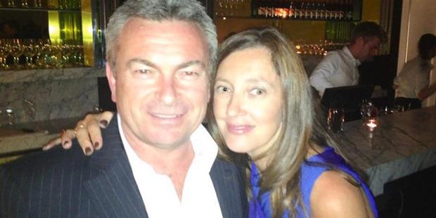 Loading Karen Ristevski and husband Borce Ristevski in 2013. Photo / via Facebook