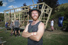 Leo Murray believes tiny houses could provide a solution to the housing crisis and help people avoid taking on huge debt. PHOTO/ANDREW WARNER