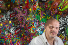 POWER: Jean-Marc Calvet spoke about his journey from addiction to artist. PHOTO/BEN FRASER