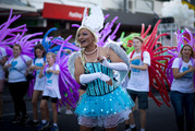 The Auckland Pride Parade held on Ponsonby Road. Photo / Dean Purcell