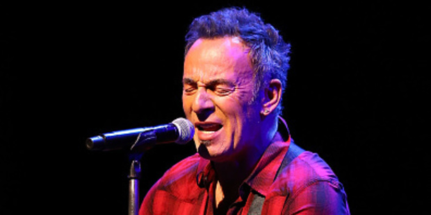 Bruce Springsteen rocks Mt Smart Stadium. Photo / Getty Images