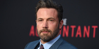 Ben Affleck's name was mysteriously absent from a press release related to his biggest upcoming movie. Photo/AP