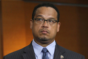 Keith Ellison is the man the Democratic Party hope can turn the party's fortunes around and maximise the anti-Trump sentiment surging in the US. Photo / AP
