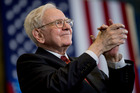 With almost US$85b on hand at the end of September, there are many options for what Warren Buffett will do next. Photo / AP