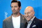 Hugh Jackman and Patrick Stewart appeared together on Graham Norton's couch. Photo/AP