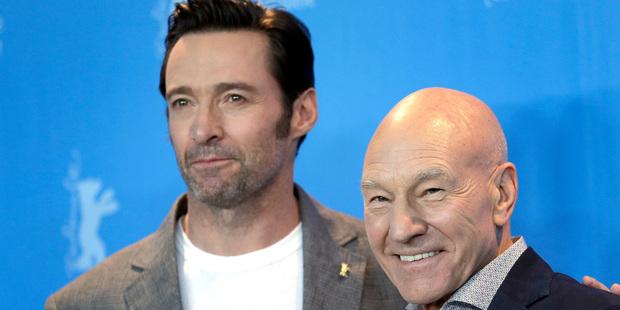 Loading Hugh Jackman and Patrick Stewart appeared together on Graham Norton's couch. Photo/AP