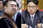 Kim Jong Nam, the estranged half-brother of North Korean leader Kim Jong Un and North Korean leader Kim Jong Un. Photos / AP