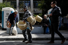 Greece remains dependent on bailout loans from its partners in the eurozone to pay its debts and protect it from bankruptcy and a potential exit from the euro. Photo / AP
