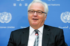 Russian UN Ambassador Vitaly Churkin died suddenly in New York yesterday. He was 64. Photo / AP