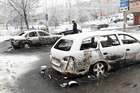 Police in Sweden are investigating riots that broke out in a predominantly immigrant Stockholm suburb after officers arrested a suspect on drug charges. Photo / Christine Olsson/TT News Agency via AP