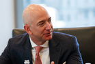 Washington Post owner and Amazon chief executive Jeff Bezos. Picture / AP.