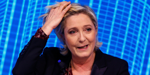 Marine Le Pen is the French far-right 2017 presidential candidate of the Front National party. Photo / AP