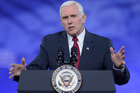 Vice President Mike Pence speaks at the Conservative Political Action Conference (CPAC) in Oxon Hill, Md. Photo / AP