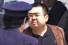 This 2001 photo shows Kim Jong Nam taken at the airport in Narita, Japan. Photo / AP