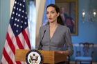 Angelina Jolie has shunned Hollywood in favour of more political roles, including the United Nations High Commissioner for Refugees Special Envoy. Photo/AP