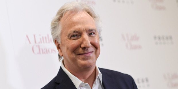 Alan Rickman starred in the 2005 film as Harry, who thought about cheating on his wife. Photo/AP