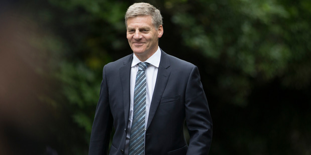 Prime Minister Bill English wrote a tut-tutting note about Adrian Orr's pay rise. Photo / Mark Mitchell