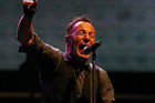 Bruce Springsteen plays the Mount Smart Stadium in Auckland 1 March 2014 Herald on Sunday Photograph by Chris Loufte NZH 03Mar14 - Bruce Springsteen is a showman's showman, and at Mt Smar