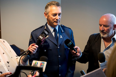 Police Commissioner Mike Bush has admitted to a drink driving conviction. Photo / Dean Purcell