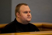Kim Dotcom, during his bail appeal hearing at the Auckland High Court. Photo / File
