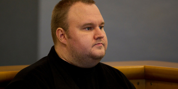 Loading Kim Dotcom, during his bail appeal hearing at the Auckland High Court. Photo / File