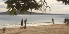 Takapuna Beach, where a local man said he found a freshly-skinned piece of dog flesh this week. Photo / File
