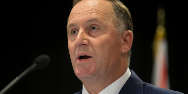 John Key's party's fresh water policy has come under heavy criticism from the Greens and some environmentalists. File photo / Mark Mitchell