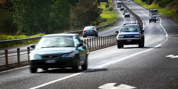 The Waikato expressway is amazing, however the absence of a motorway through Hamilton is a shocker. Photo / Doug Sherring
