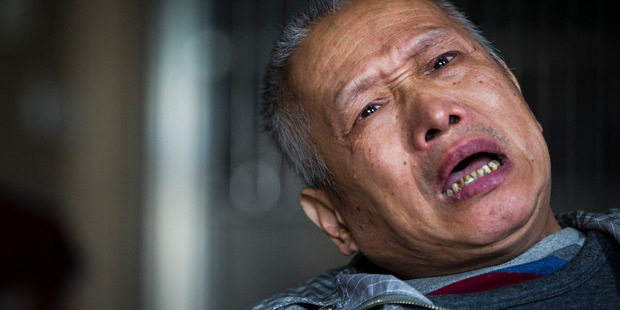 Bo Tu lost his 22-year-old daughter, Hui Yun Tu, in the CTV building collapse. Photo by Mike Scott