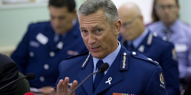 Police Commissioner Mike Bush said the conviction was disappointing. Photo / Mark Mitchell