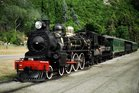 The vintage steam train the Kingston Flyer has been bought. Photo / Supplied