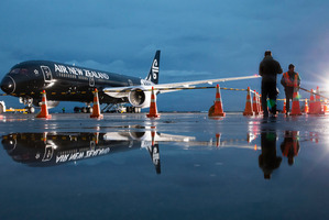 Air New Zealand is leasing an extra Dreamliner to meet capacity increases. Photo / Peter Meecham