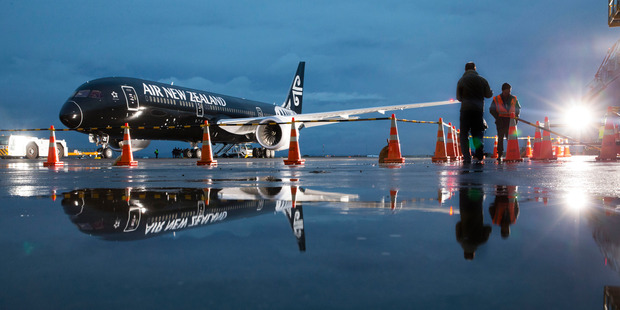 Loading Air New Zealand is leasing an extra Dreamliner to meet capacity increases. Photo / Peter Meecham