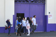 Cadbury Dunedin Staff leave after a meeting. Photo / Otago Daily Times