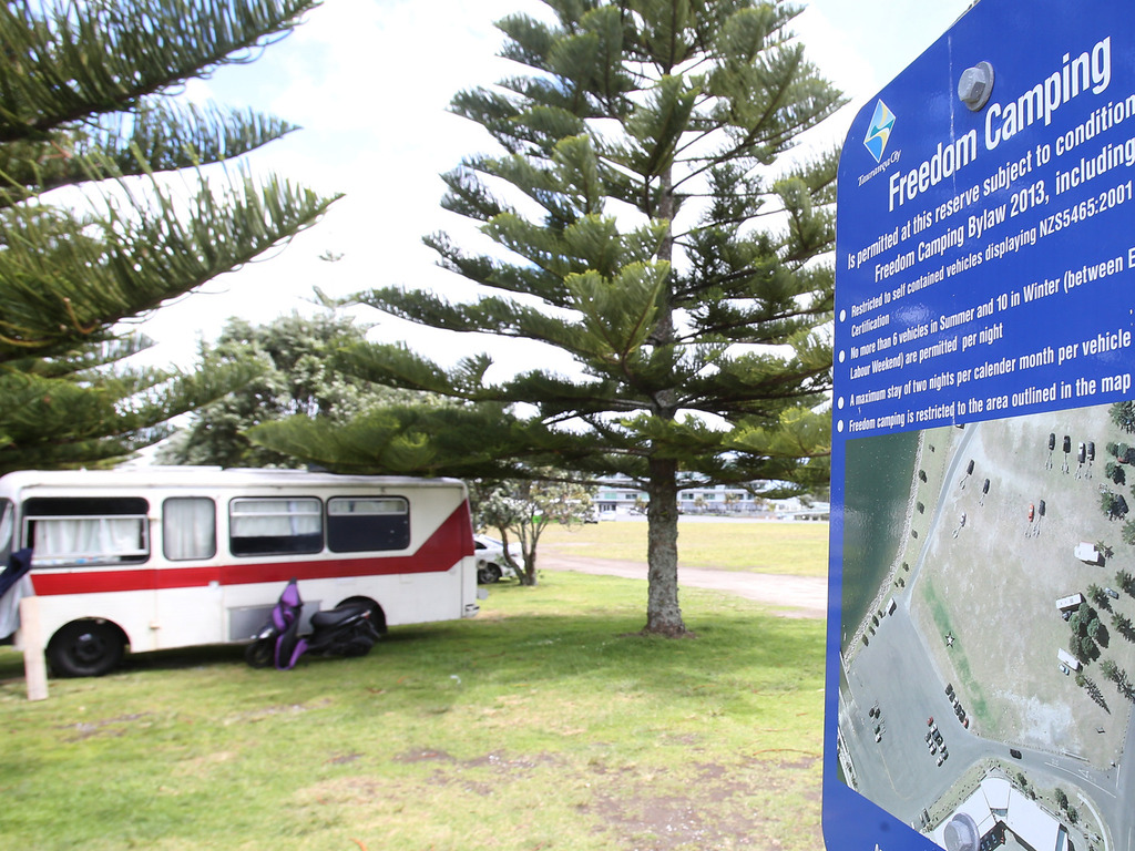 Auckland tackles freedom camping issue