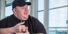 """Kim Dotcom told  the Herald the ruling was a """"major victory"""" because it ruled that there is no New Zealand equivalent to the US criminal charges of copyright violation. Photo / File"""